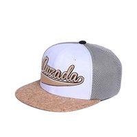 مصمم القبعات قبعات الرجال قبعة بيسبول تنفس والترفيه casquette في الهواء الطلق ظلة حافة مسطحة من شبكة بيضاء