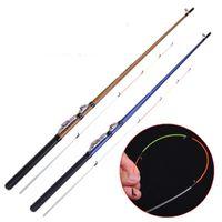 Haste de jangada de cauda macia 1.3 / 1.5 / 1.8m 2 segmento de corte de cuttping enxertando vara de pesca jogando pólo dois cor l0331