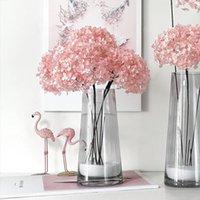 Decorative Flowers & Wreaths 2021 Year Valentine's Day Garden Wedding Home Decoration DIY Materials Preserved Hydrangea Flower Bouquet Ornam