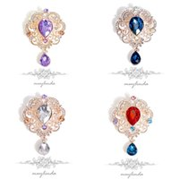 muylinda Baroque Brooches For Women Jewellery Women Party Crystal Water Drop Broach Brooch and Pins Clothes Scarf Jewelry 1735 Q2