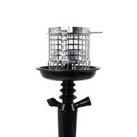 HONEYPUFF Smoking Metal Hookah Wind Cover Coal Windproof With Shisha Charcoal Holder Chicha Narguile Hose Accessories