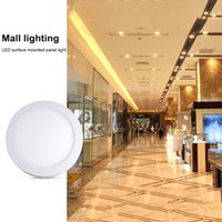 Ceiling Bathroom Light LED 6W Flat Round Down Kitchen Panel Surface Mounted TB Sale Lights