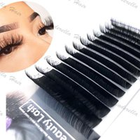 False Eyelashes All Styles Flat Ellipse Extensions Split Tips Shaped Natural Light