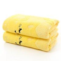 Soft Cotton Bath Asciugamano Cartoon Cat Coperta Baby Neonato Neonato Bambini Traspirante Asciugamani Comfortable Comodo Swimwear Panno doccia 117 x2
