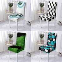 Chair Covers Football Soccer Field Dining Chairs Computer Armchair Cushion Cover With Back Gamer Office