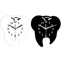 Настенные часы Timelike Creative зубные часы орнамент 3D акриловые зеркало наклейки домашнего декора
