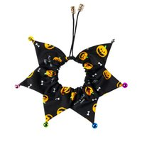 Dog Collars & Leashes Cute With Bell Party Cat Pet Collar Grooming Easy Wear Accessories Festival Adjustable Puppy Supplies Halloween Decora