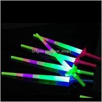Другие события Праздничная вечеринка Поставки Главная Гарденсины Here Four Telecopic Glow Sticks Up Toys для Xmas Music Concert Concerting Reping Bar Bar