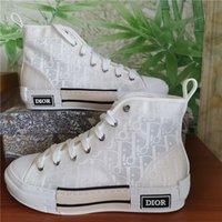 2021 Kutu Tasarımcısı Erkek Kadın Beyaz Ayakkabı Deri Espadrilles Flats Platformu Büyük Boy Casual Espadrille Düz Erkek Bayan Sneakers 36-45