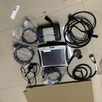 MB Yıldız C3 12 V / 24 V Çoklayıcı Tarayıcı Aracı + Xentry DAS Yazılımı HDD + CF-19 Dizüstü Hazır Kullanım