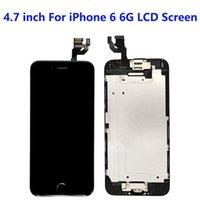 4,7 дюйма для iPhone 6 6G ЖК-панели ЖК-дисплея, используемые для ремонта телефонного дисплея Несколько вариантов качества Сенсорный Digitizer экран Устройства замена черно-белый