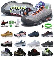TT 20º aniversario Zapatillas para correr OG 95S GREEDY MENS ULTRA TRIPLE BLACK BLANCO UBAJE SOLE SOLE GRIS AZUL NEON 95 CHAUSSURES MEJER Sneakers Outdoor Sports