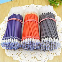 Gel Pens 20 Pcs Neutral Ink Pen Refill Good Quality Black Blue Red 0.5mm Office And School