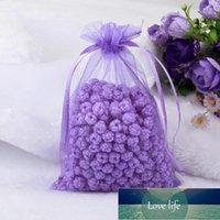 大きいオーガンザジュエリーギフトバッグ20×30センチの薄手の生地の好みのための結婚式の袋のための袋1312 v2
