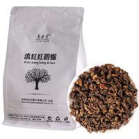 Tercih edilen 500g Yunnan Fengqing Dianhong Siyah Çay Toplu Pişmiş Kırmızı Biluo Çay Fabrika Doğrudan Satış