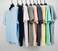 designer cptopstoney mens t shirt Factory wholesale Fashion women Tshirt Basic Cotton Sleeves Summer Badge Short Sleeve