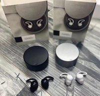 براعم النوم سماعة مصغرة اللاسلكية سماعات بلوتوث TWS سماعات ماركة سماعة سماعة سماعات مع صندوق أسود فضي 2 ألوان