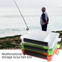 Fishing Accessories Large Capacity Lightweight Single Layer Box Outdoor Lure Gear For Baits