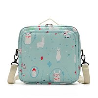 Sunen Baby Fralda sacos Saco de maternidade para impressões de moda reutilizáveis descartáveis molhado saco de fraldas secas wetbags 21 * 17 * 7cm 797 y2