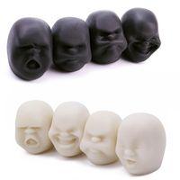 Sfiato della palla umana viso anti-stress palla morbida viso umano emozione ventilazione stress rilascio caomiu palla