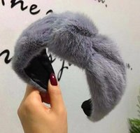 Tools Products Drop Delivery 2021 Winter Thick Furry Hairbands Warm Wide Faux Fur Plush Head Bezel Lamb Wool Band Womens Hair Accessories W2U