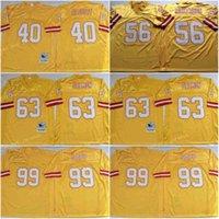 Vintage Tannpa Bavz Sapp Buccameer 63 Roy Selmon 40 Mike Alstott 99 Warren Sapp 56 Hardy Nickerson genäht Fußball Jersey Herren