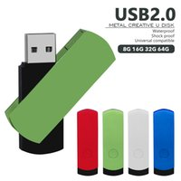 fashion mini metal usb flash drives 64GB 32GB 16GB 8GB 4GB Pen Drive portable usb2.0 stick Storage disk