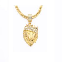 Necklace Star same style Wholesale Men Iced Out Alloy Necklace, Death Row Records Ruby Jewelry Gold Pendant Hip Hop