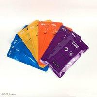 1000pcs / lot 12 * 21cm 4 색 플라스틱 휴대 전화 케이스 가방 휴대 전화 쉘 포장 지퍼 팩 도매