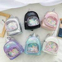 حقائب الأطفال حقائب الأطفال حقيبة الفتيات الاكسسوارات يونيكورن الترتر الأزياء الكرتون الاطفال B4815
