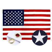 American Stars and Stripes Flags USA Presidential Campaign Banner Flag for President Campaign Banner 90*150cm Garden Flags FWF6912
