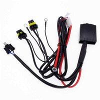 1PC H4 / 9003 H13 / 9008 9007/9004 Lumière télescopique Xenon Lampe de voiture Connecteur Connecteur HID Phare Drapeau Fil Distributeur du câblage