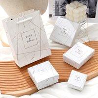 패션 대리석 패턴 쥬얼리 포장 상자 반지 목걸이 팔찌 선물 다목적 포장 상자 다양 한 크기의 다양한
