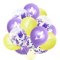 Mermaid Party Balloons Foil Balloon Kids Birthday Party Kid Decorations Baby Shower Decor Globos Set CCF7008