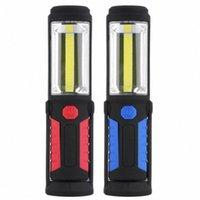 Potente pannocchia Led portatile 3000 lumen magnetico magnetico ricaricabile luce di lavoro a 360 gradi appendere la lampada della torcia appesa per il lavoro O9RP #