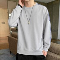 Men's Hoodies & Sweatshirts Fashion In 2021 Youth Loose Long Sleeve T-shirt Spring And Autumn