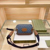 Lussurys Designer Borse Borse Fashion Vita Borsa Unisex Cheat Bags Bel Style Letter G Stampa Donne e uomini BAGAGE