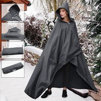 Raincoats Waterproof Camping Picnic Mat Raincoat Ground Blanket Bed Foldable Fleece Hooded Travelling Carrying Portable Parts