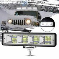 LED ضوء العمل ضوء الفيضانات أدى ضوء بار الأبيض مصباح القيادة المحمولة تعديل مصباح ل إصلاح السيارات في حالات الطوارئ سيارة suv شريط شاحنة