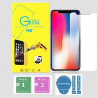 High Clear 9H 0.3mm 2.5D Tempered glass screen protector Film For Iphone 6 6s 7 8 plus x xr xs 11 12 13 mini pro max Lg Android phone With Retail box