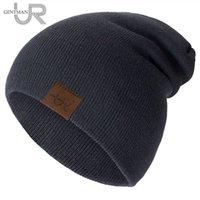 1 PCS Unisexe Beanie Hat Urgentman Casual pour hommes Femmes chaudes Soft Soft Soft Sontal Daily Winter Ox28.xxx
