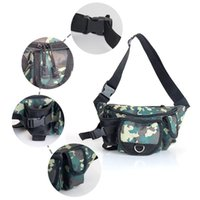 Outdoor Bags Multifunctional Fishing Tackle Single Shoulder Crossbody Bag Waist Pack Fish Lures Gear Utility Storage