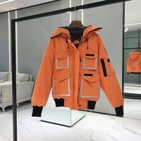 21ss down jacket 4071 mov Canada co brand goose high quality Mens womens polo Leisure trends men women designer Jer Winter Jassen Wolf Fur Coat Parka Reflective X9WZ#