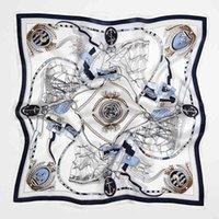Firmenaktivitäten Seide Geschenk Schal Mulberry Weibliche Schal Kleines quadratisches Handtuch 53cm Hand Professionelles Geschäft