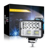 "4"" LED Truck Trailer Work Light Spot Lamp Bar 78W 12V 24V Square 26LED Lights for Cars Off Road Tractor Boat 4x4 ATV 4 Inch Worklight"