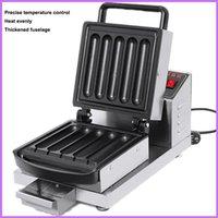 Milk Rod Machine Electric Crispy Milk Stick Waffle Maker Corn Dog Machine Stainless Steel Bread Machine 220V 110V 800W 1800W