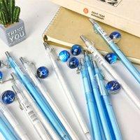الكرة الزجاجية 12 الأبراج التلقائي قلم رصاص النشاط القلم سوبر لطيف