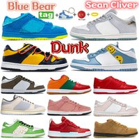 Hyper Royal 2021 Sean Cliver Dunk Scarpe da corsa blu giallo arancione orso università rosso pino verde uomo bianco uomini da donna scarpe da ginnastica formatori 36-45