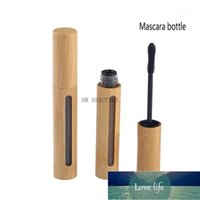 50Pcs Lot 6ml high-grade bamboo empty mascara tube lip gloss bottle eyelash tube natural bamboo cosmetic packaging1 Factory price expert design Quality Latest Style