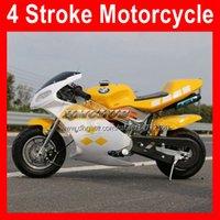 2021 49CC 50cc 4 инсульта спортивные маленькие мотоциклетные локомотивные моторы велосипеды мини супербайк начальный самокат Kart детские подарок гоночные гонки реальные автобиски бензин мотоцикл